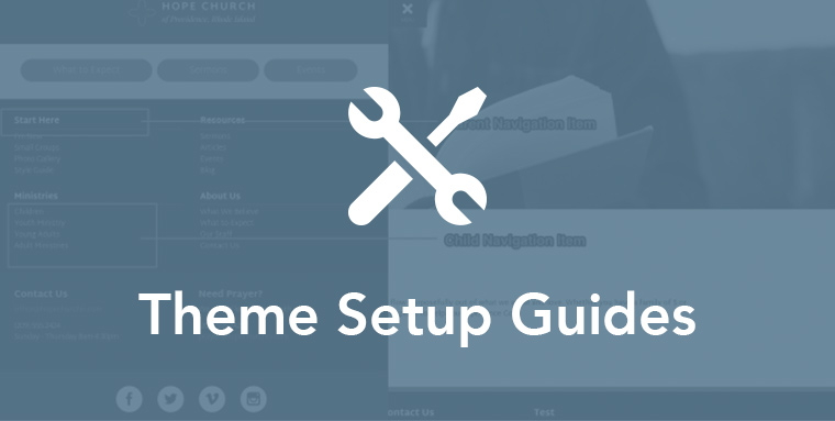 Onboarding - Theme Setup Guides